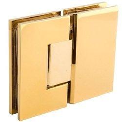 Brass Polish  Glass Shower Hinge SH180-B BP