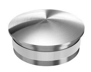 End Cap for Ø 25x1,5 mm   /Satin