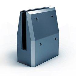 Glass Balustrade Minipost, 15 - 17,52 mm,  aluminium, RAL  7016