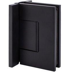 W2G Black Glass Shower Hinge  (hidden screws) for loft