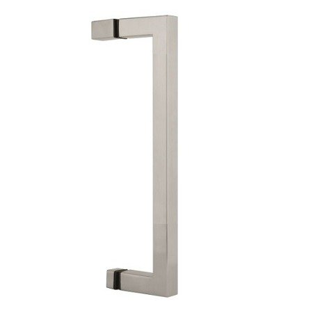 20cm Square Handle with Knobs
