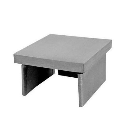 End Cap for 40x40 Glass Balustrade  Handrail PBK-01