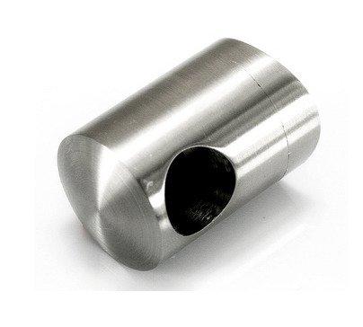 Flat Back Crossbar Holder for Ø16 mm pipe/Ø 50,8 mm / SATIN/POLISH