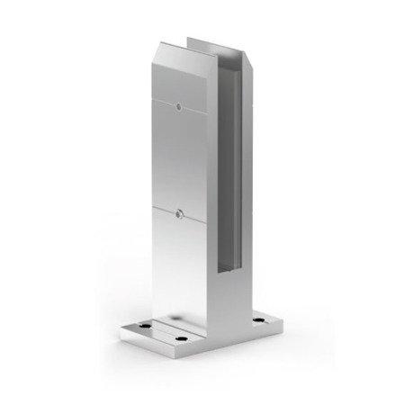 Glass Balustrade  Minipost, H=210 mm, anodized aluminium