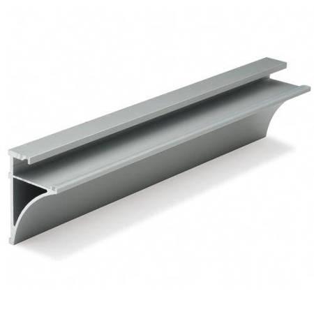 Glass Shelf Profile  for 8 mm Glass, L=0,9m, 2 m