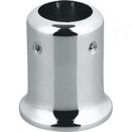 Round Ø 19 mm End Connector for Stabilizer / Polish, Satin