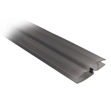 Shower Glass Door Magnetic Black Seal  90°/180° - 6, 8 mm