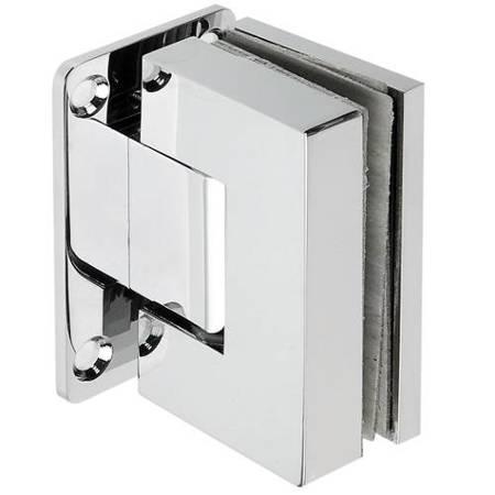 Shower Wall Mount Hinge with hidden screws / Polish