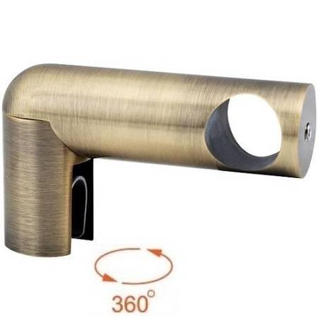 Side Ø 19 mm Shower Support / Old Gold